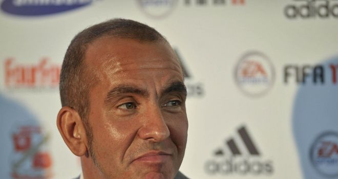 Di Canio: Pleased with Robins