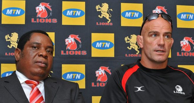 Gumede: Has walked away from a deal to invest in the Lions