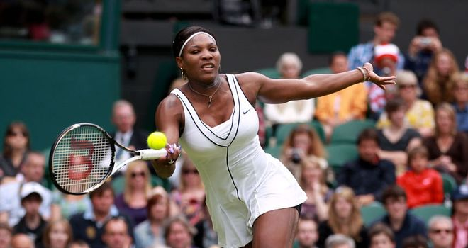 Williams: Angered at the decision to schedule her match on Court Two