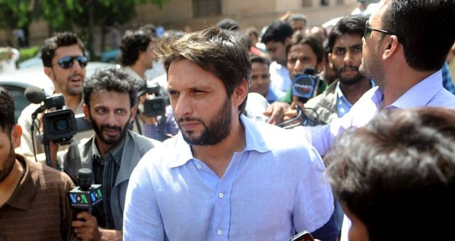 Afridi: free to take up Twenty20 contract in England
