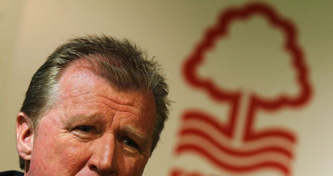 McClaren: Claims to have ironed out any issues he had with the Forest board