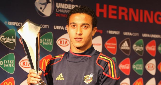 Thiago: Highly-rated midfielder
