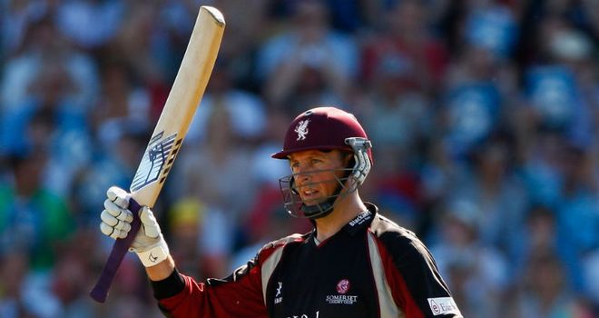 Trescothick: determined to help Somerset pick up some silverware in 2011