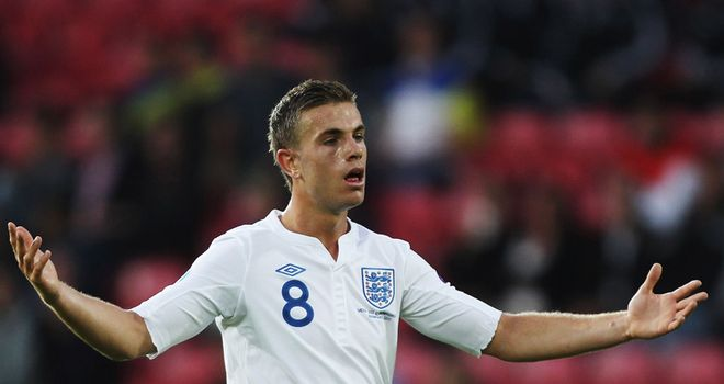 Jordan Henderson: Keen to show he can make the step up internationally back to the senior England side