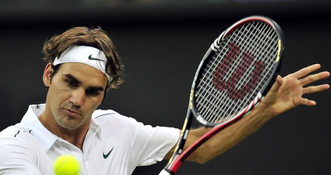 Federer: breezed past Mannarino in an hour and 28 minutes