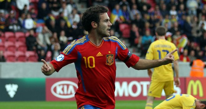 Juan Mata: Scored opening goal in 2-0 victory against Czech Republic