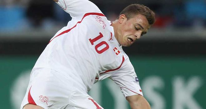 Shaqiri: Influencial throughout victory over Belarus