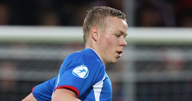 Sigthorsson: Was on target with Iceland's opener