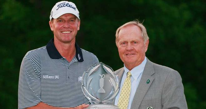 Stricker: Nicklaus says he has the ability to win a major