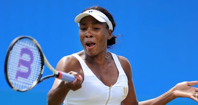Williams: wayward serve proved costly