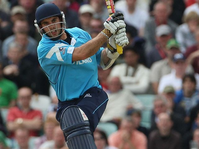 Kyle Coetzer: Hit 57 for Scotland