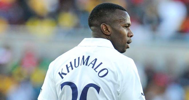 Bongani Khumalo: The defender has failed to make an impact at Spurs