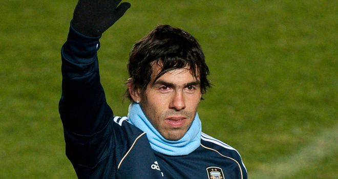 Tevez: Mancini wants him back at City