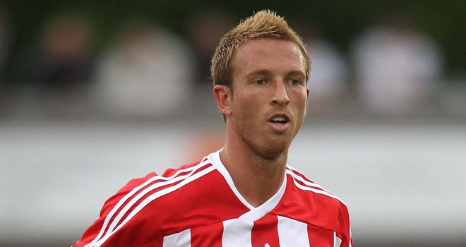 Collins: Stoke defender has joined Ipswich on loan for three months