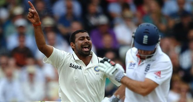 Praveen Kumar: fractured rib ruled him out of Test series in Australia