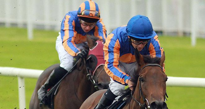 Lily Fire: On target at the Curragh