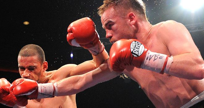 Frankie Gavin: Pulled out of scheduled fight with Horta