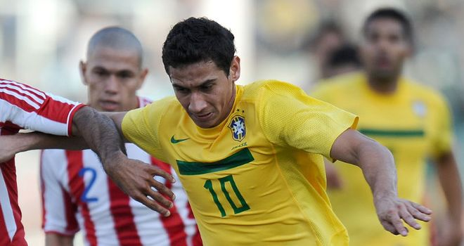 Paulo Henrique Ganso: Capped eight times by Brazil