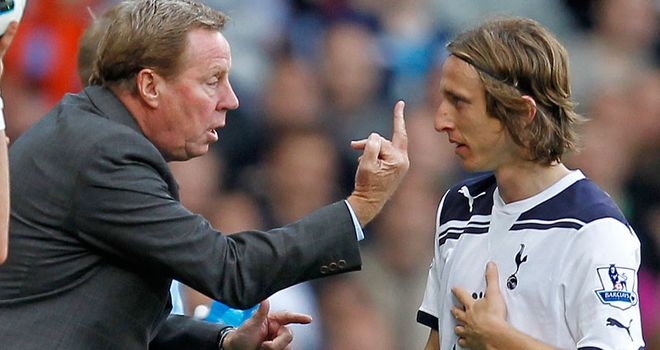 Redknapp: Reluctant to part with Modric's creative talents