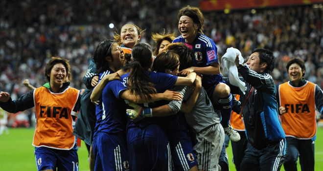 Japan toast their success