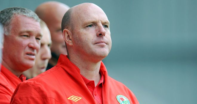 Kean: Rovers manager keen to utilise experienced players within his squad