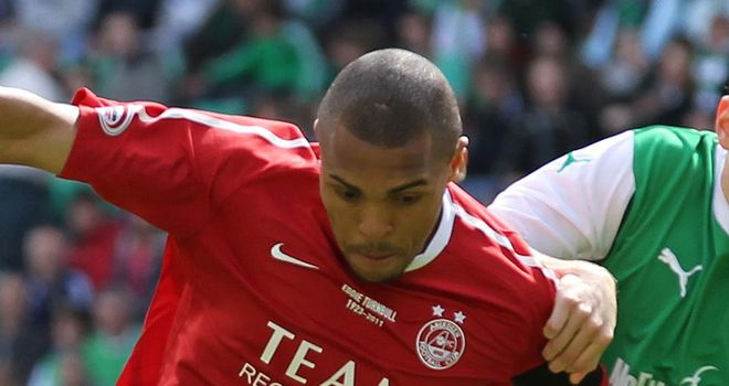 Josh Magennis: Is free to leave Aberdeen in the January transfer window