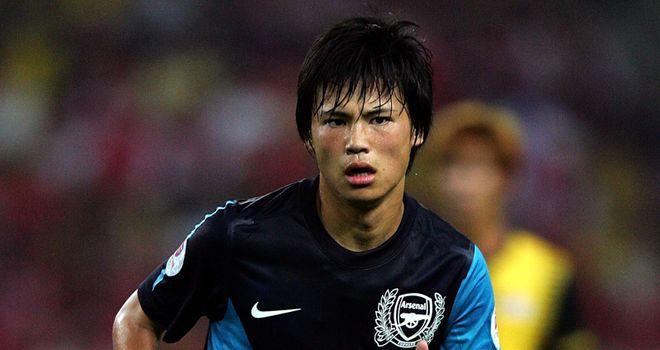 Ryo Miyaichi: The Japanese starlet is raring to impress at Bolton