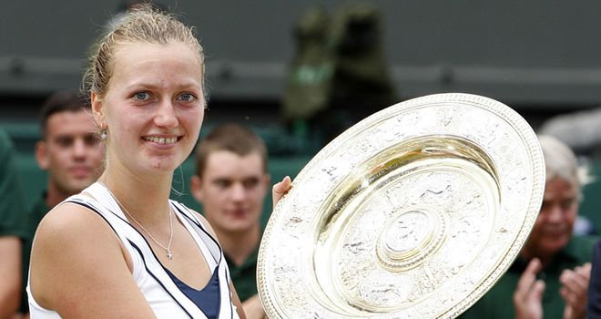 Petra Kvitova: Has struggled to recapture the form which saw he win Wimbledon
