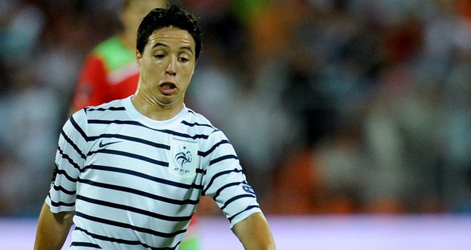 Samir Nasri: France open their Euro 2012 campaign against England