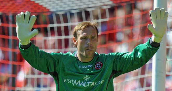 Steve Simonsen: Has signed one-year deal at Preston North End