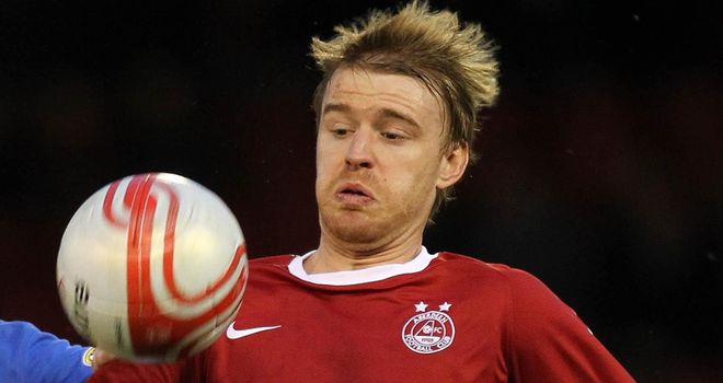 Smith: Wanted on loan at Preston after a spell at Aberdeen last season