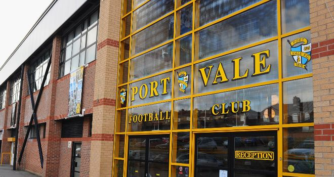 Vale Park: Welcomed new recruits