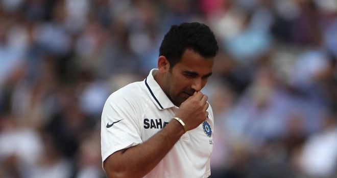 Zaheer: Injury doubt for Trent Bridge
