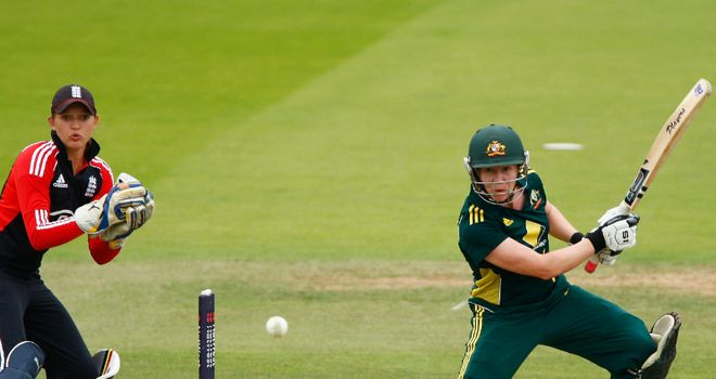 Finisher: Blackwell's half-century settled run chase