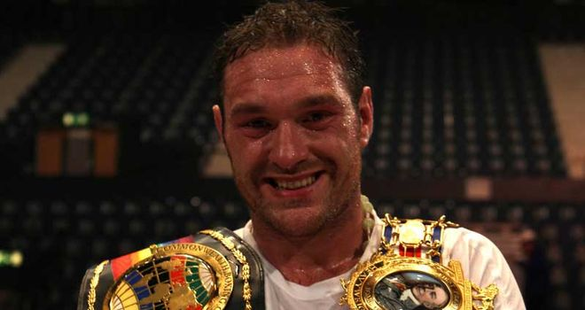 Tyson Fury: Wants to avenge his amateur loss to David Price