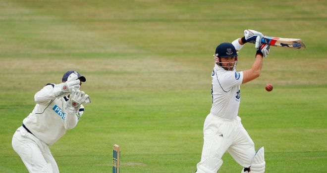 Matt Prior: Remaining with Sussex until at least 2013