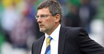 Levein: Wants Uefa to take retrospective action against Rezek for simulation
