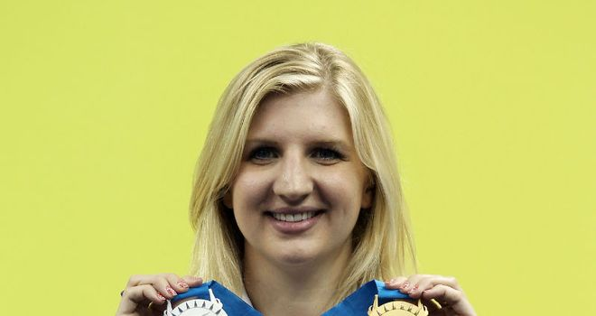 Adlington: Keen to add to her medal haul in 2012.