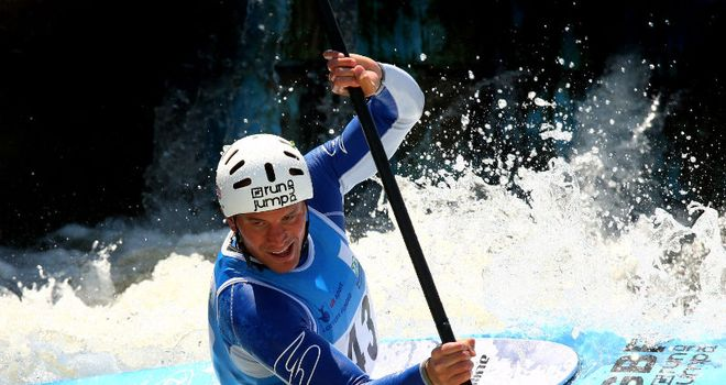 Richard Hounslow: The GB canoeist hopes to bring home a medal this summer