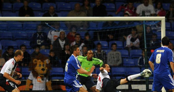 Tuncay: Spectacularly volleying in Bolton's equaliser