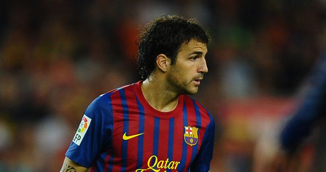 Fabregas: No rivalry with Barcelona and Spain Xavi