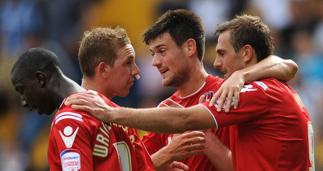 Charlton: Will hope to continue their celebrations this weekend too