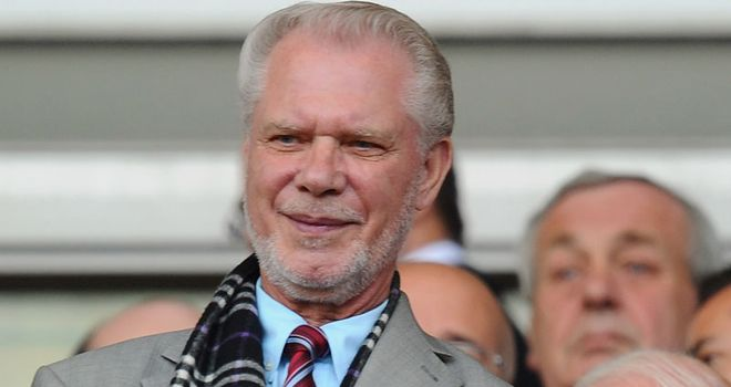 David Gold: Has revealed West Ham hope to sign up to four players this summer