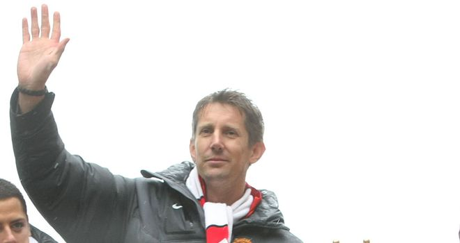 Edwin van der Sar: Back in the game