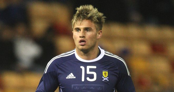 Goodwillie: Scotland striker set to make his first start against Lithuania