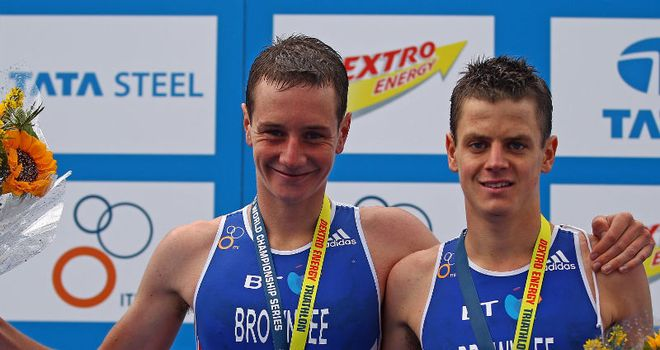 Brownlee brothers: Hoping for Olympic one-two in London