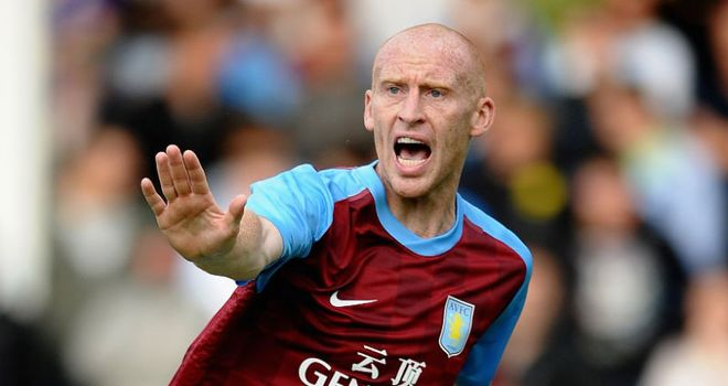 Collins: Enjoying his time at Aston Villa and feels his best years are still ahead of him