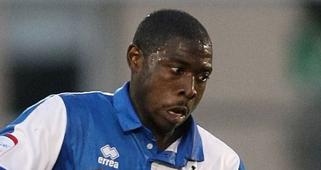 Kuffour: Has joined Gillingham on a three-month loan from Bristol Rovers