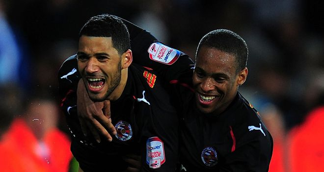 Cumming: Delighted to sign new deal to keep him at Reading until 2013