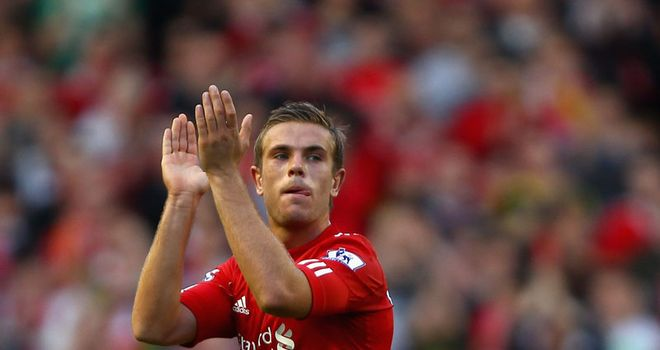 Jordan Henderson: Praise for Andy Carroll for his performance against Stoke